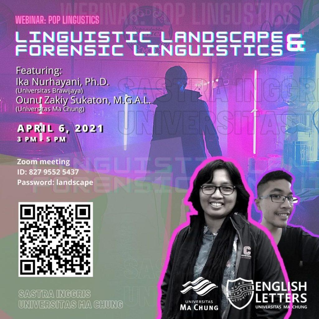 Webinar Pop Linguistics