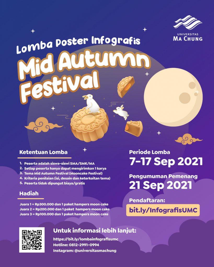 Lomba Poster Infografis Mooncake Festival